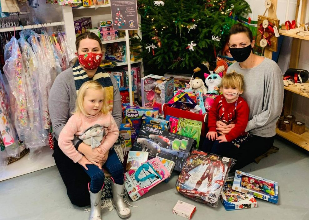 Christmas in hospital made special by generous present donations