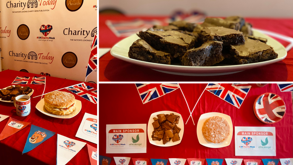 CharityBIGBake: 'Our UK Charity Week calories don't count, do yours?'