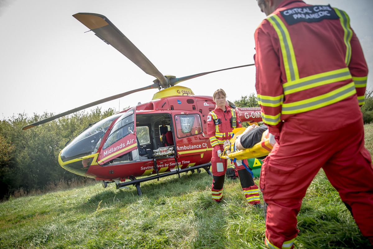 UK Charity Week & Midlands Air Ambulance: Finding Positivity During The Pandemic