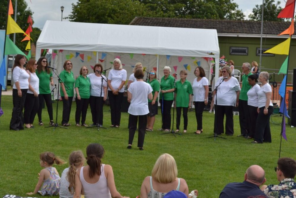 Carers continue to smile and sing throughout COVID-19