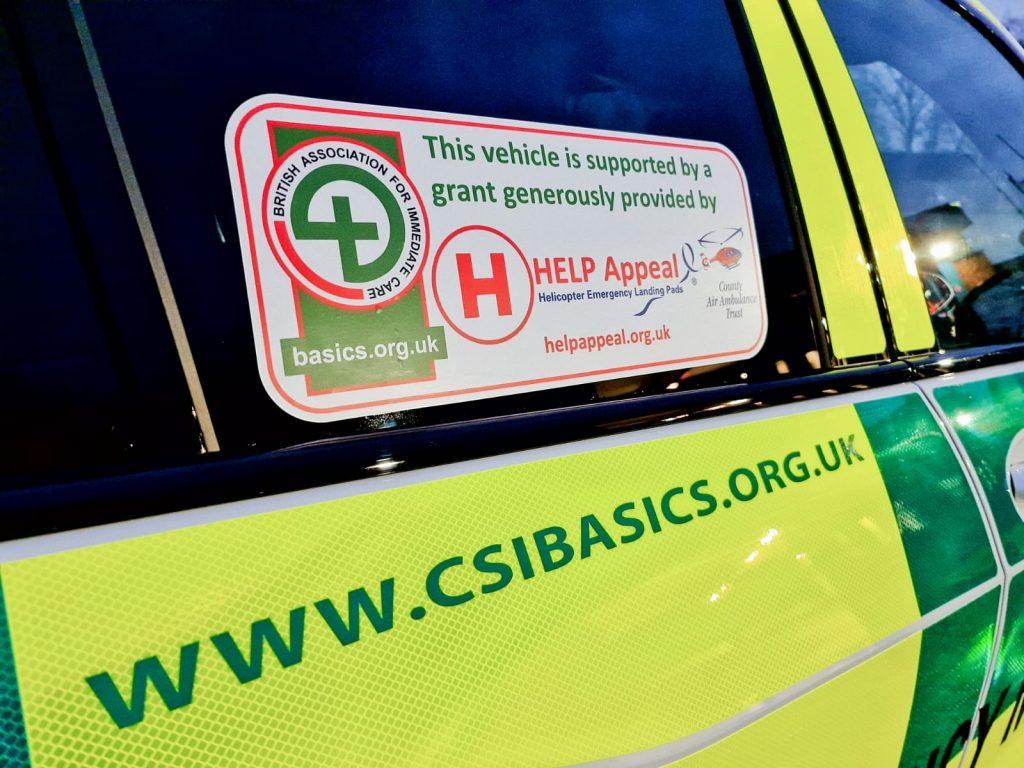 Cheshire and Shropshire emergency volunteers launch lifesaving vehicle
