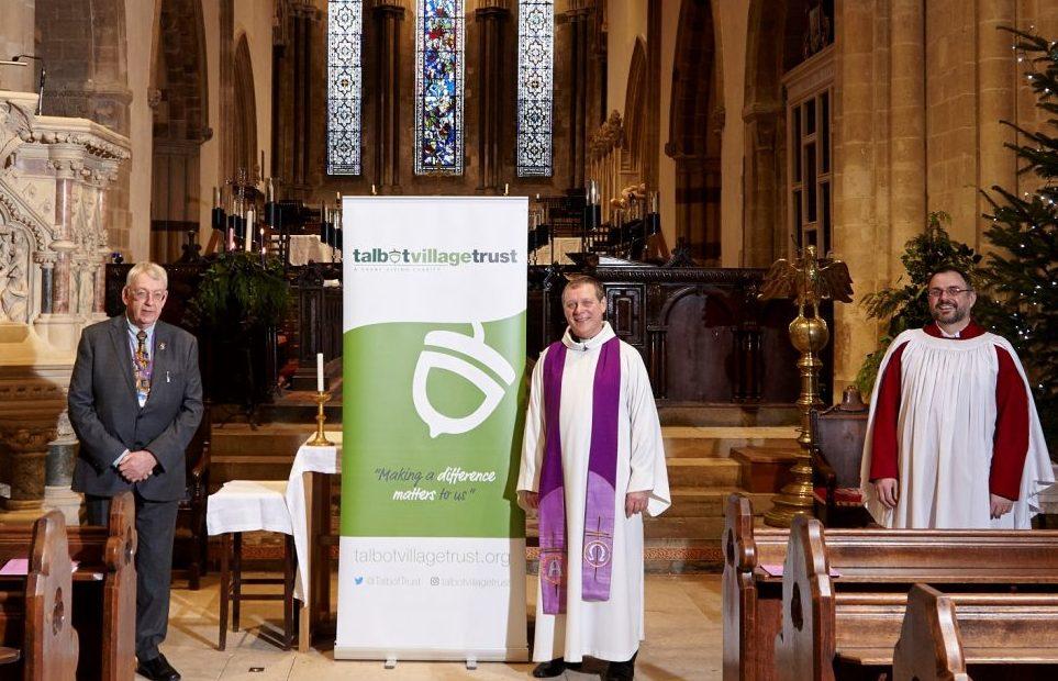 Talbot Village Trust donates £50,000 to restore 1,300-year-old minster