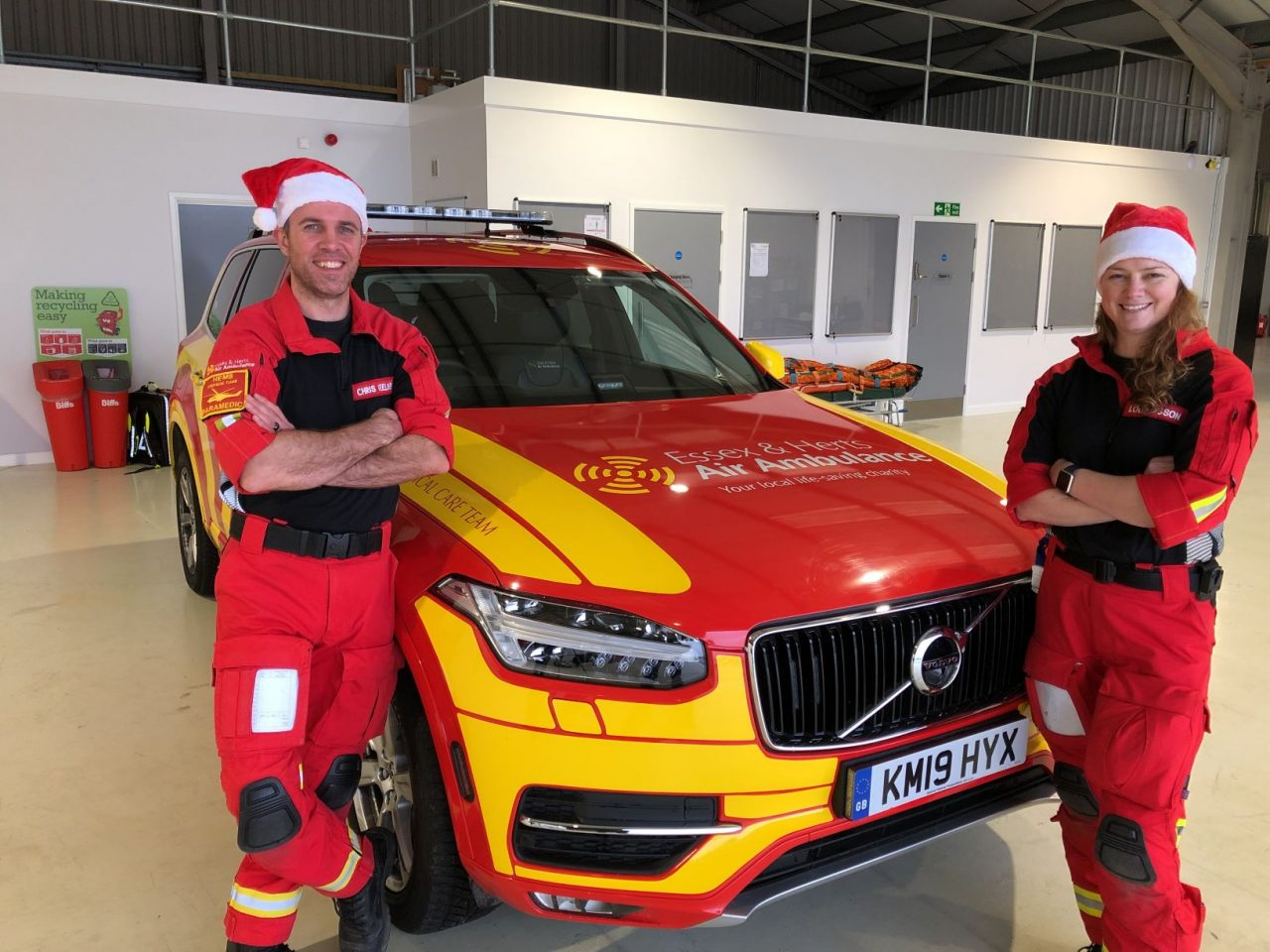 Essex & Herts Air Ambulance thanks supporters with a very special Christmas event