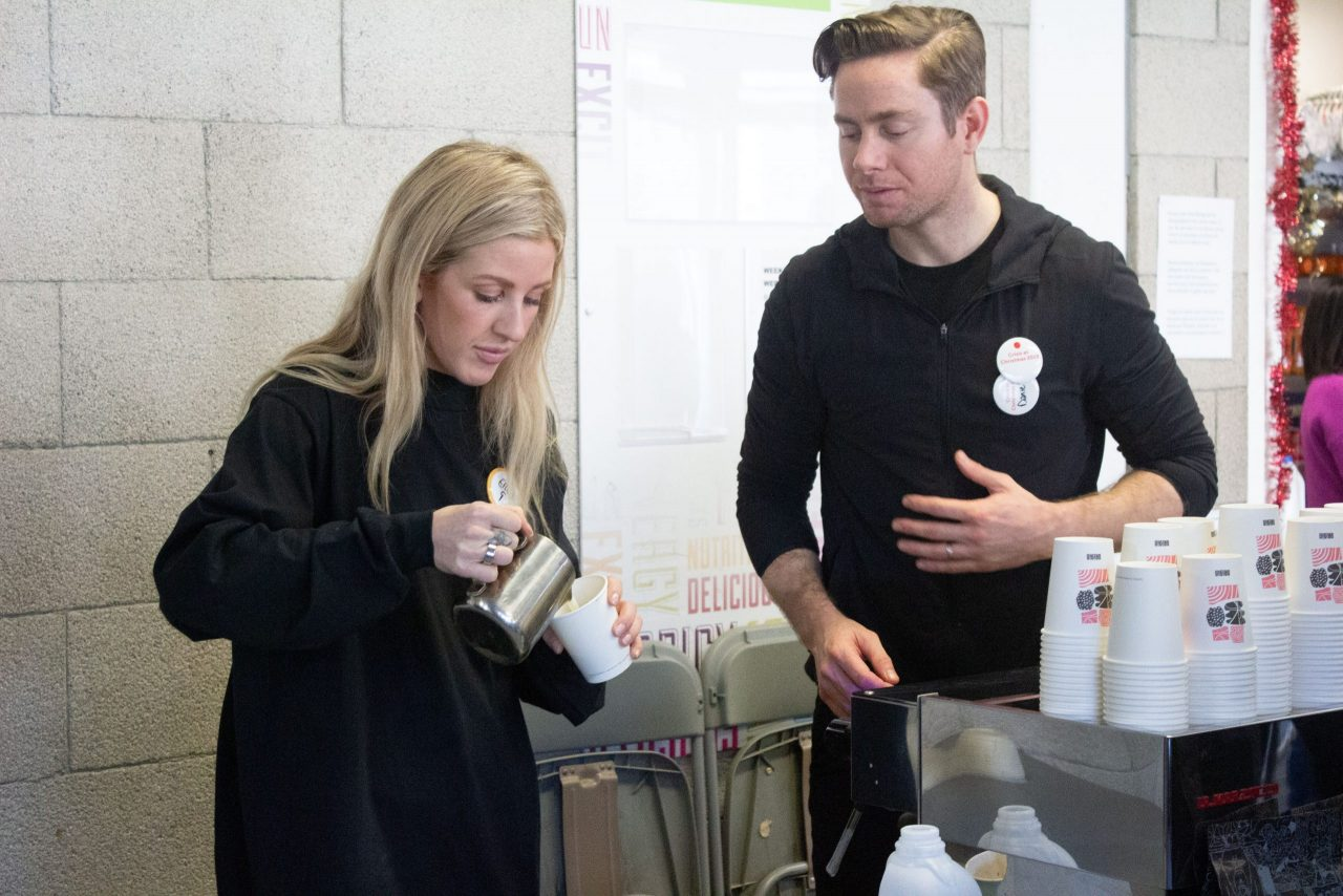 Ellie Goulding leads star studded call for donations to support people experiencing homelessness this Christmas