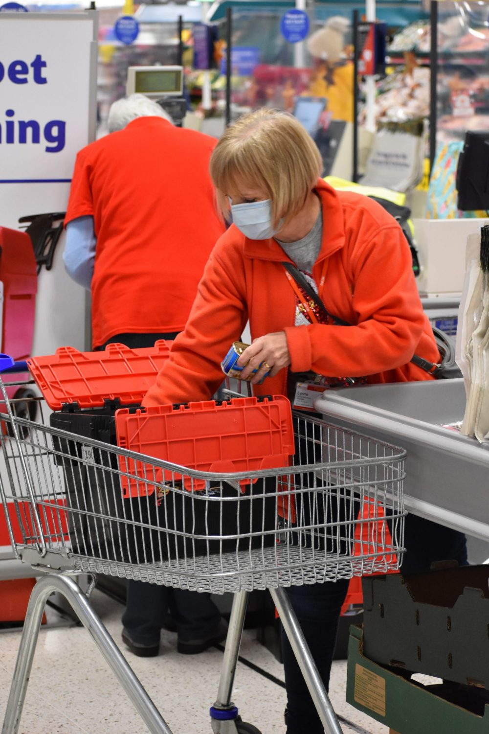 Volunteers hard at work for food charity's busiest-ever Christmas