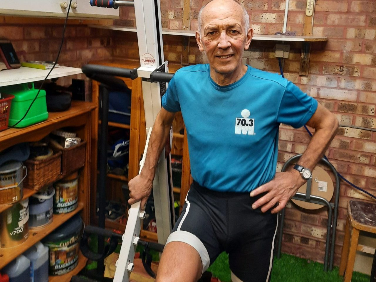 Climbing the Height of Mount Everest 70 Times...At 70!