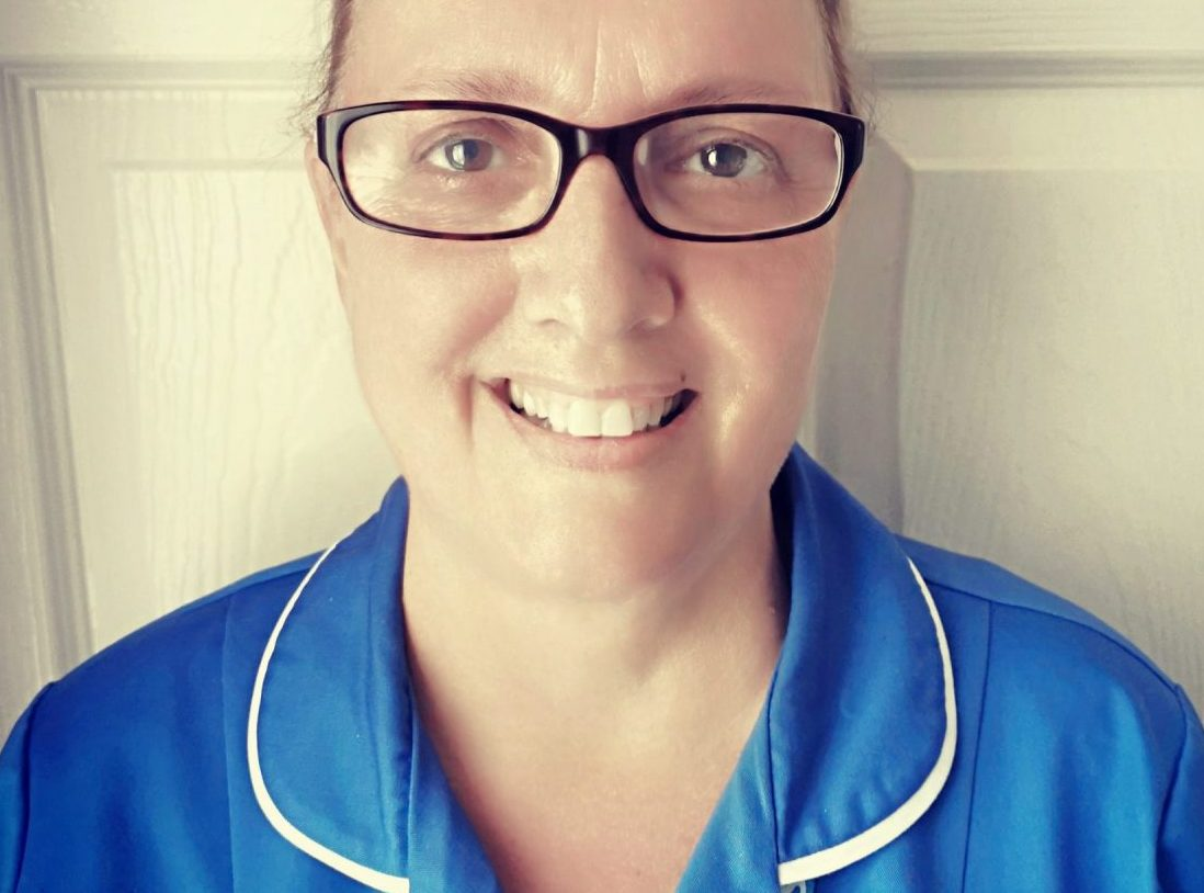 Nurse inspired to Run for All at Rotherham Hospital this Christmas