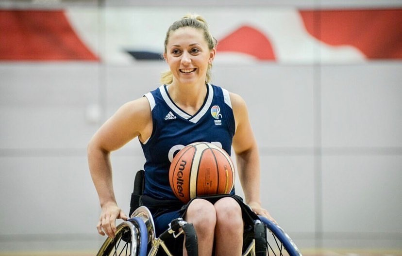 Great Britain wheelchair basketball star, Sophie Carrigill becomes patron