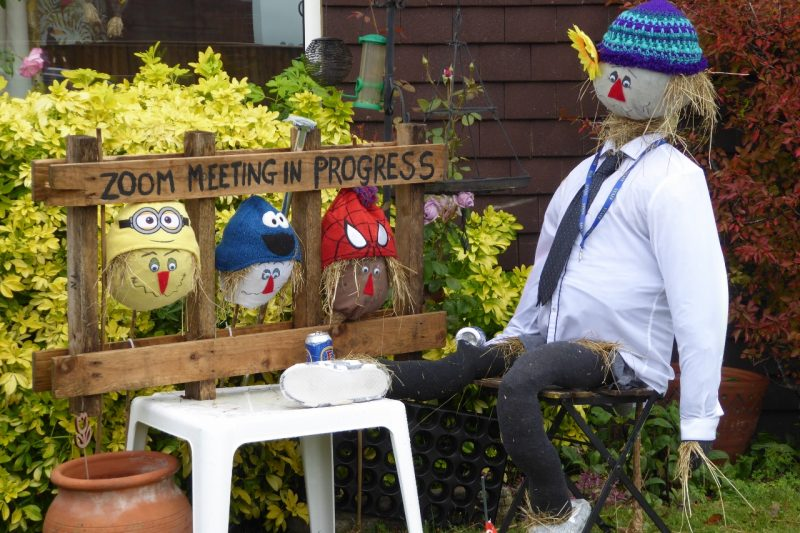 #UKCharityWeek's Positive Stories: Fundraising Scarecrow Trail gave creative expression to lockdown