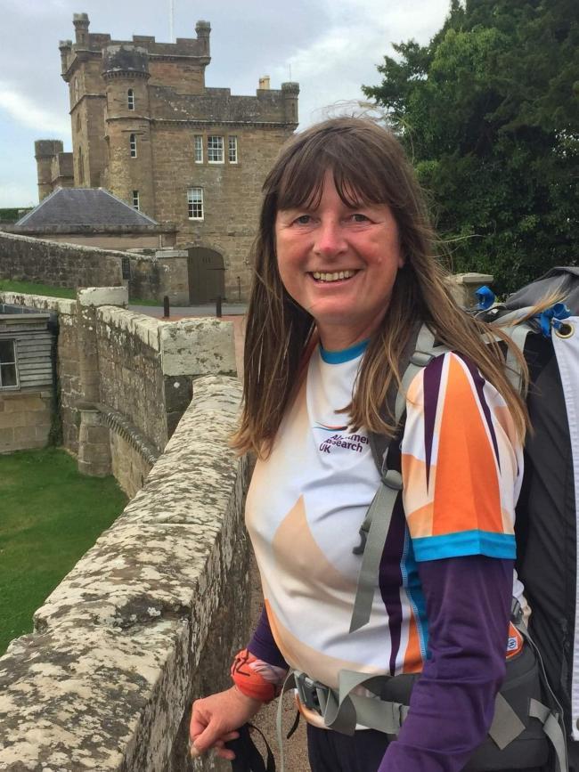 Walker restarts 20,000-mile UK and Ireland trek after lockdown
