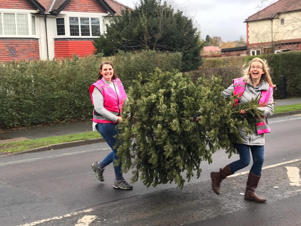 JustHelping launch national Christmas tree collection campaign