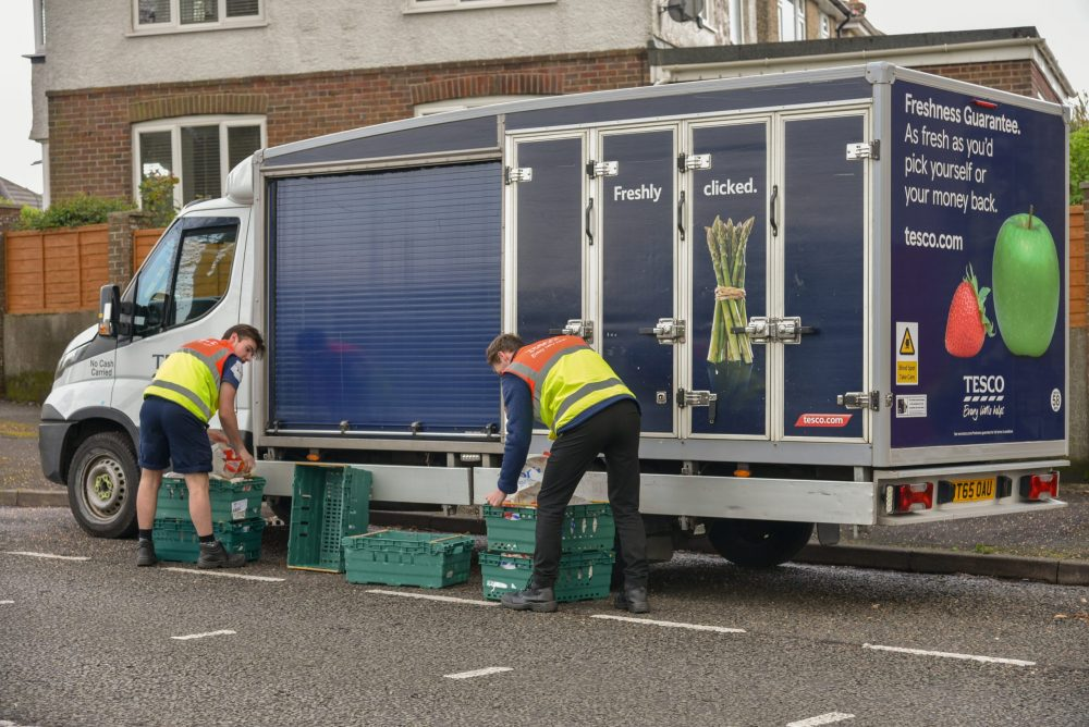 Charities join forces to urge supermarkets to suspend delivery charges for at risk people