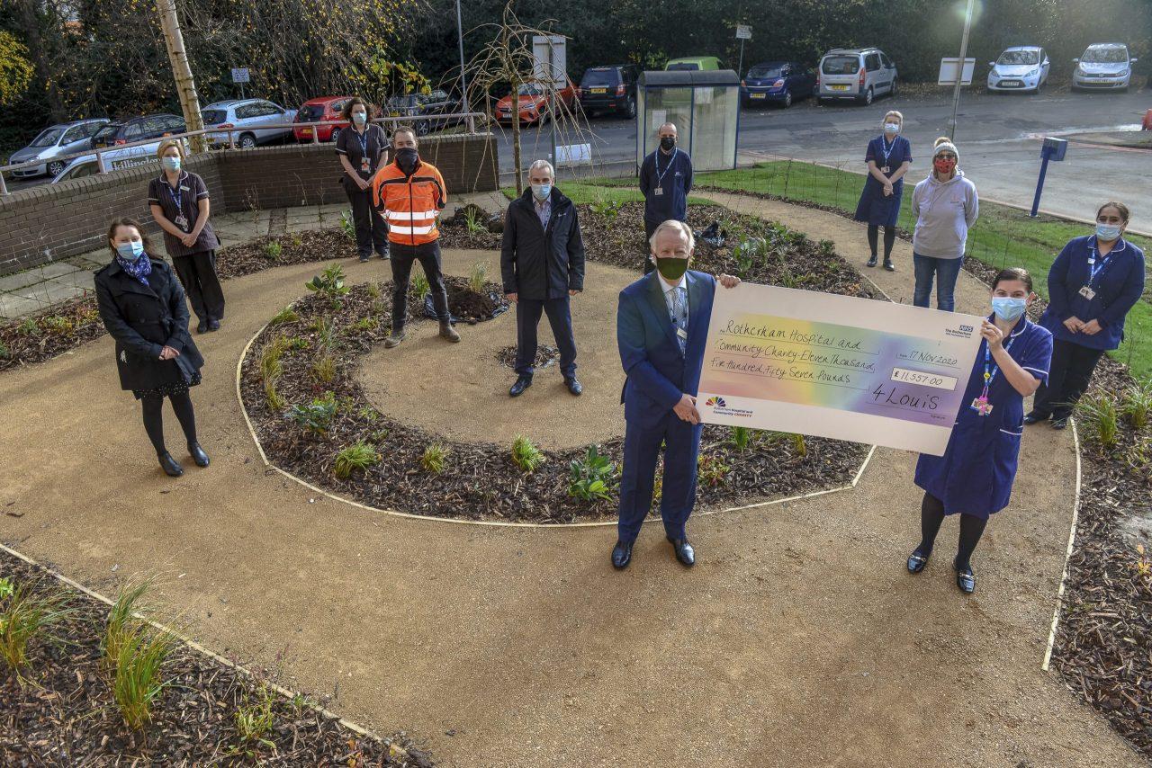 Virtual tributes sought for hospital memorial garden