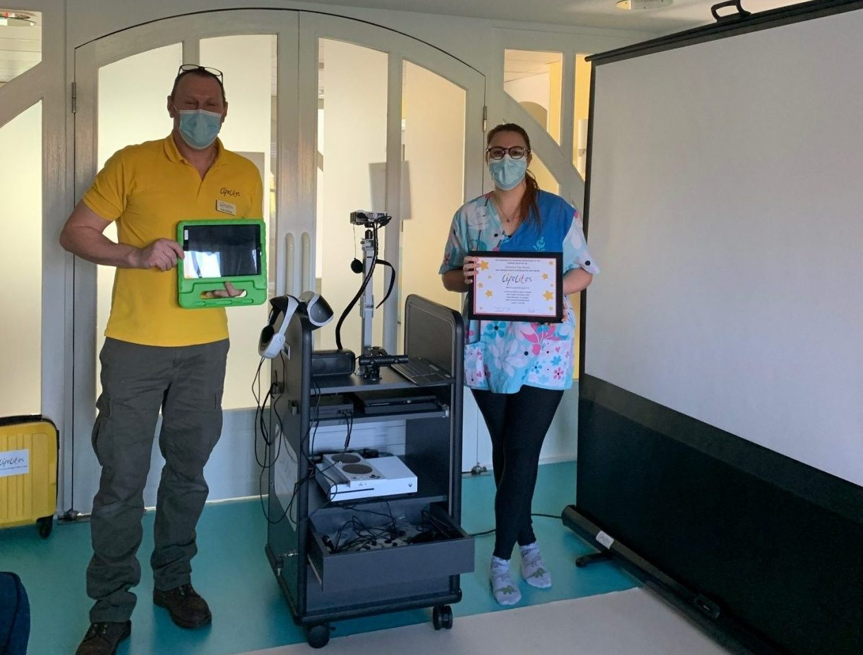 Life-changing technology donated to children's hospice