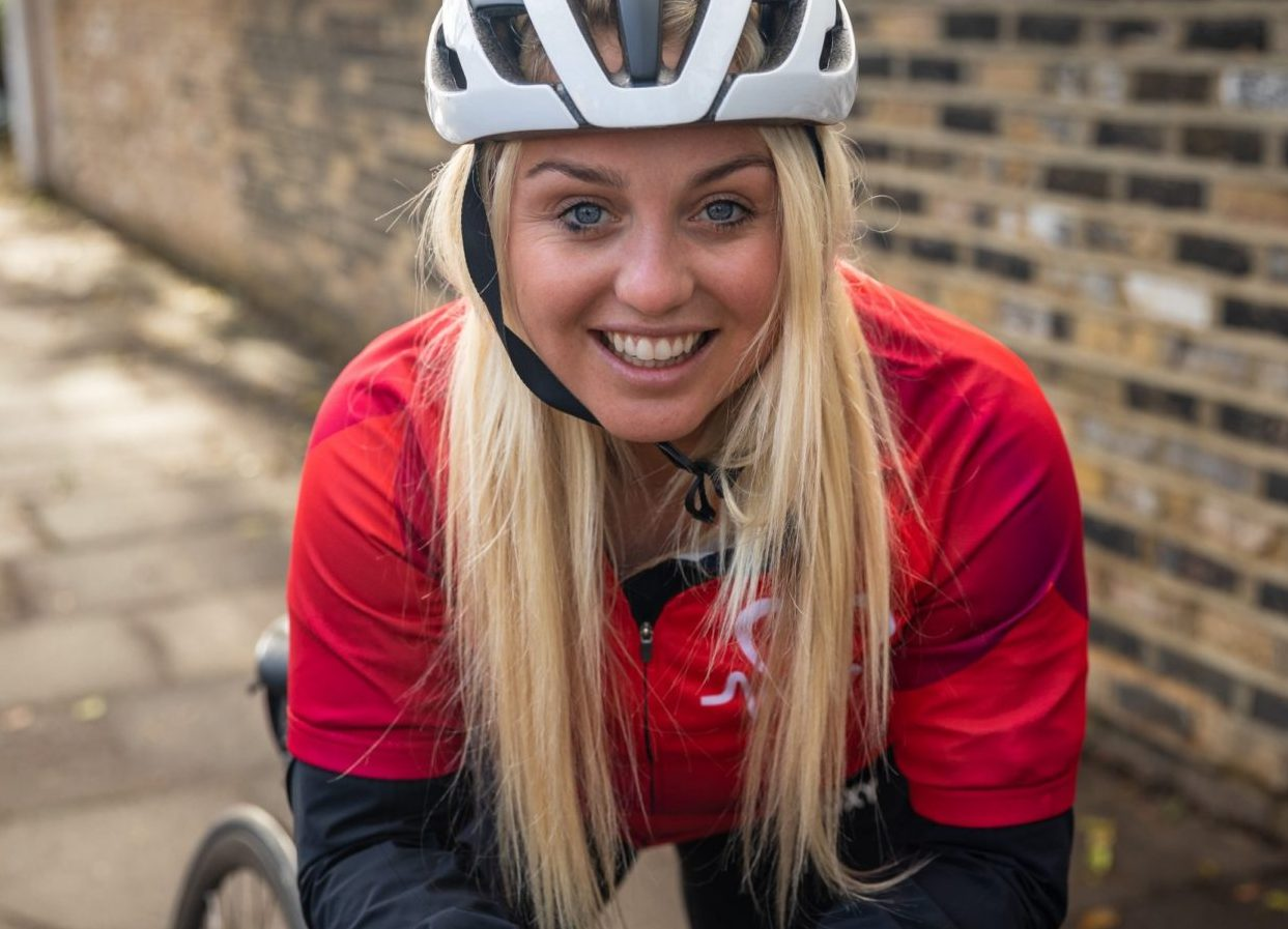 Aimee Fuller's top tips for cycling in winter