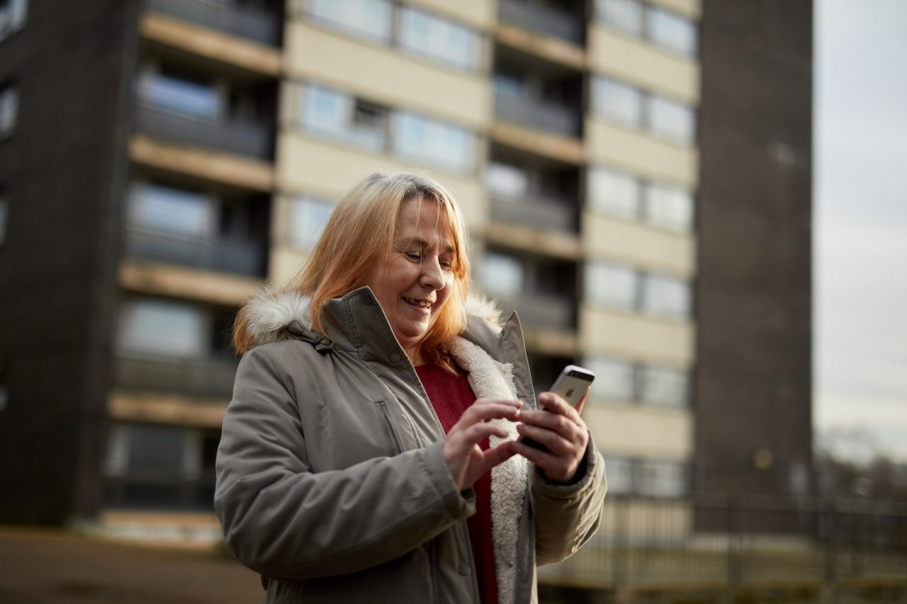 People facing homelessness in Rochdale stay connected thanks to a donation of mobile phones