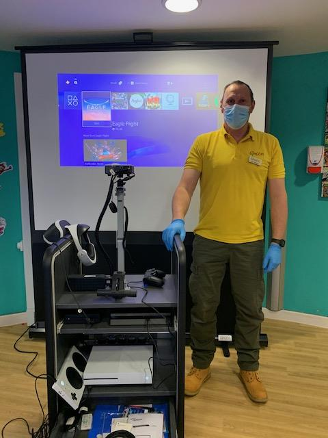 Charity donates life-changing technology to Claire House Children's Hospice in Wirral