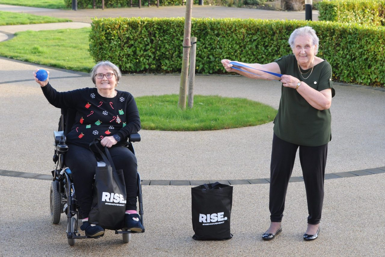 Free activity packs to help older people stay active in Northumberland and Tyne & Wear