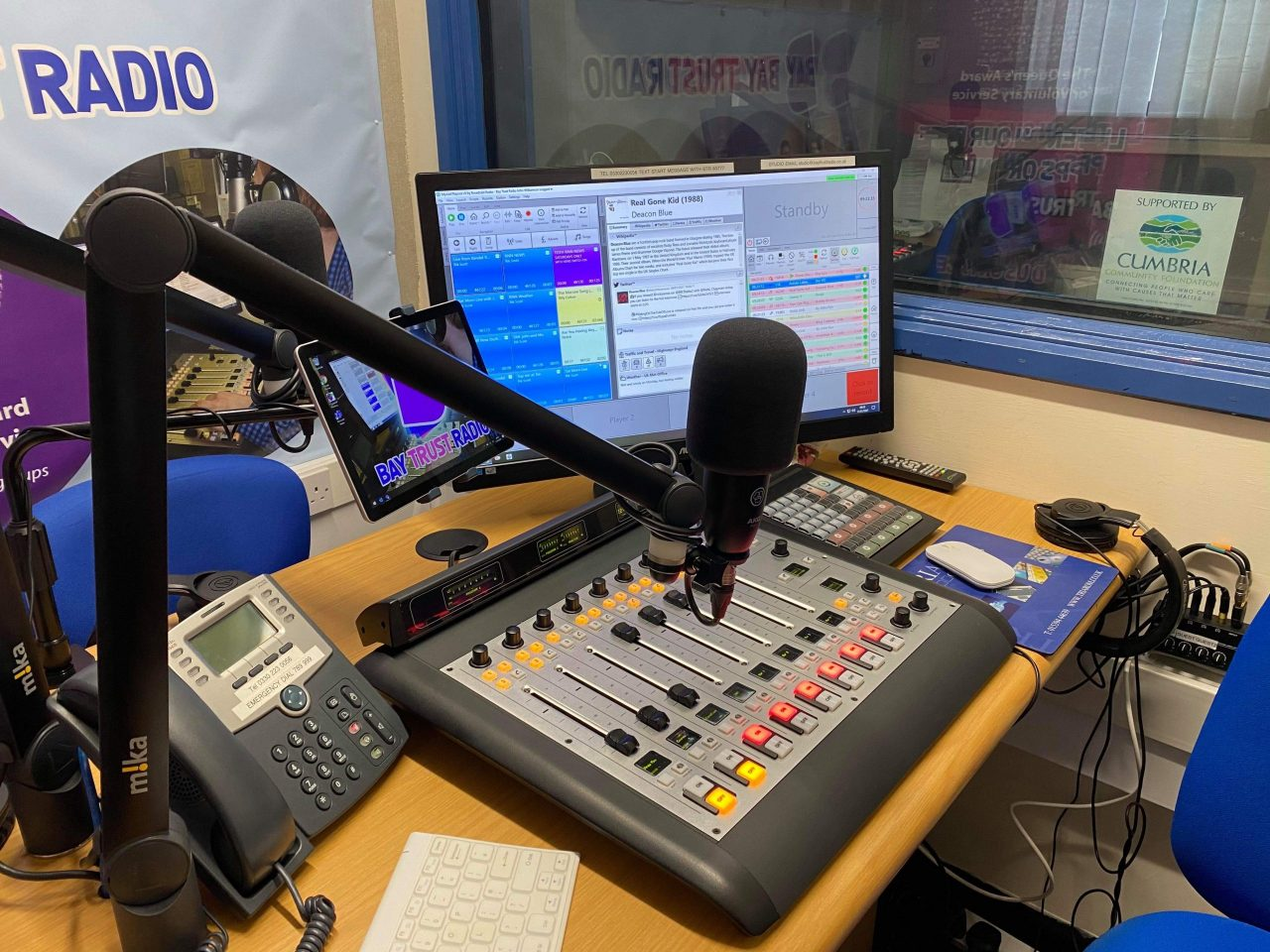 Funding boost keeps charity on air during lockdown