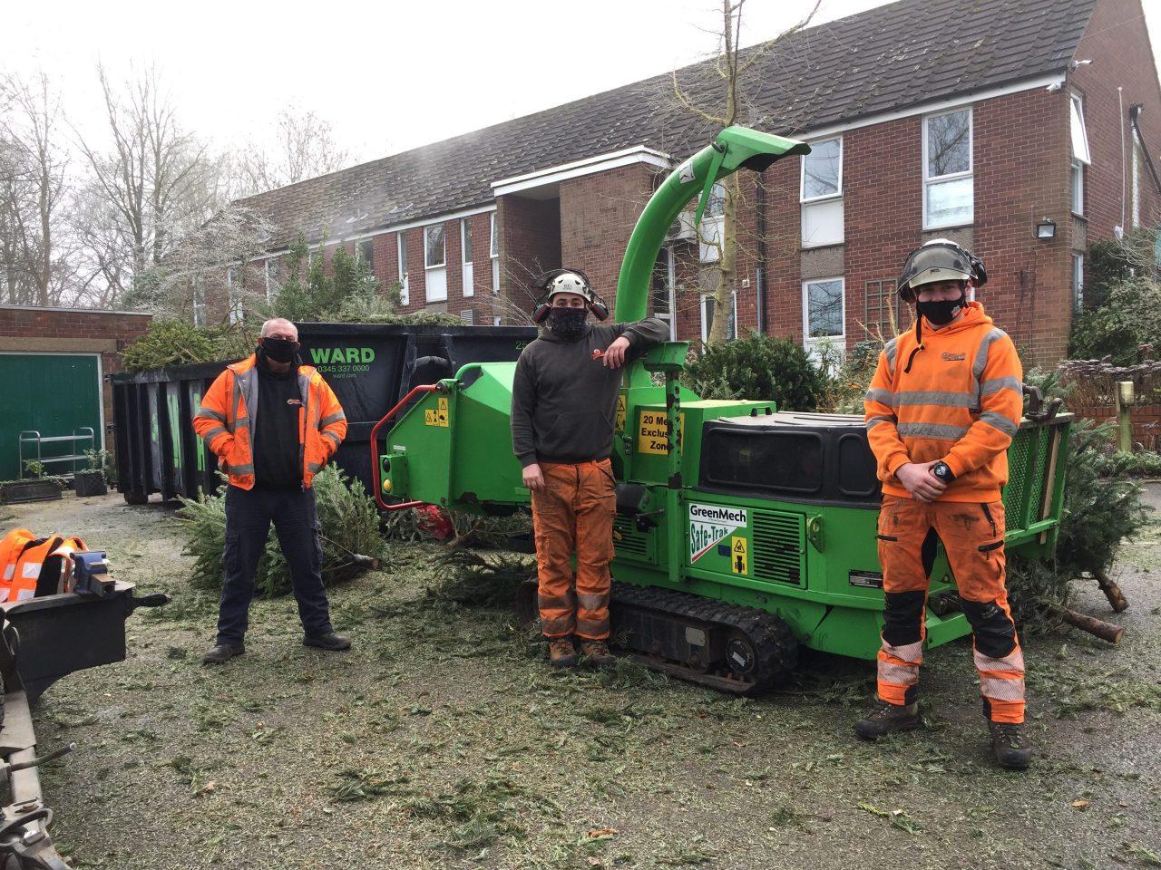 Christmas tree recycling scheme raises £17k for local hospice