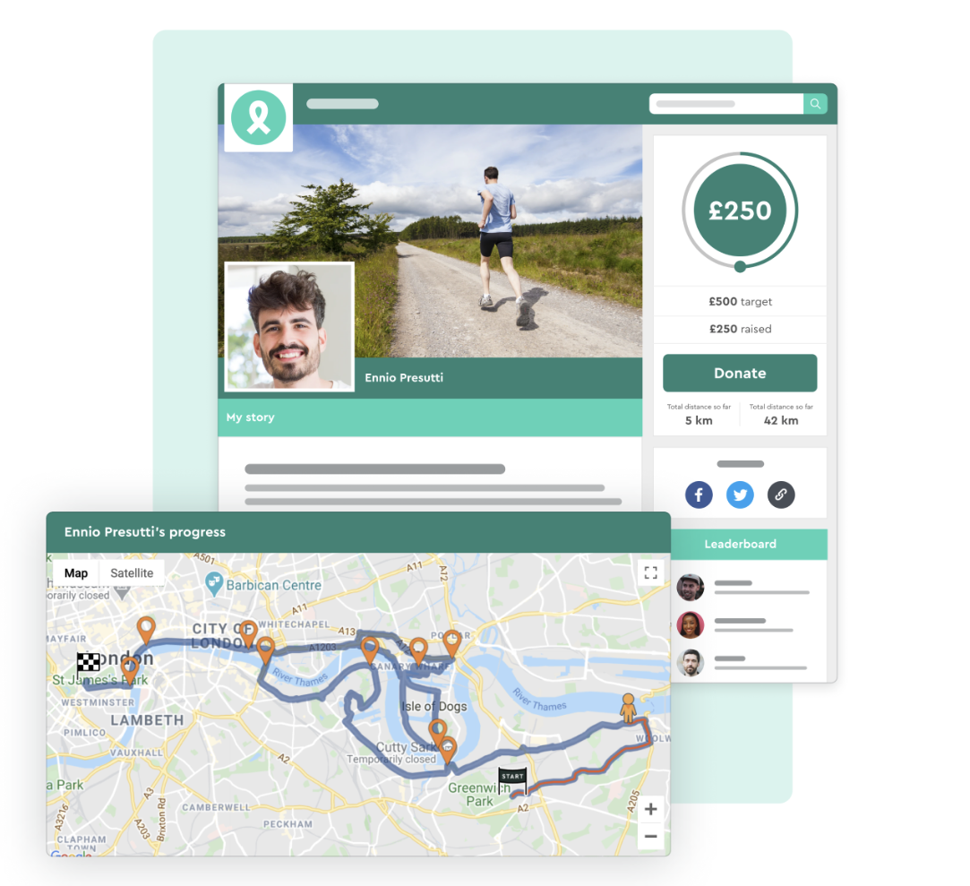 Enthuse launches Virtual Journeys to help charities increase revenue from digital fundraising events
