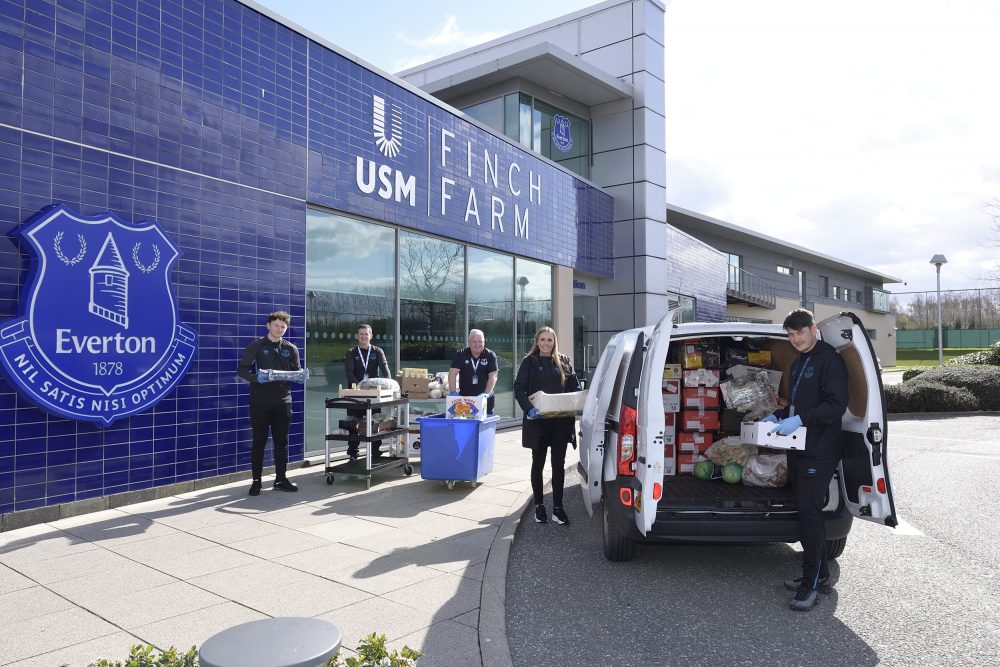 Everton in the Community promises Blue Family initiative will continue post-pandemic