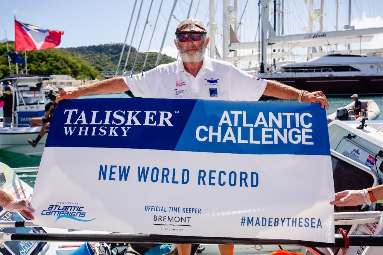 70-year-old Atlantic solo rower raises over £883,000 for dementia research