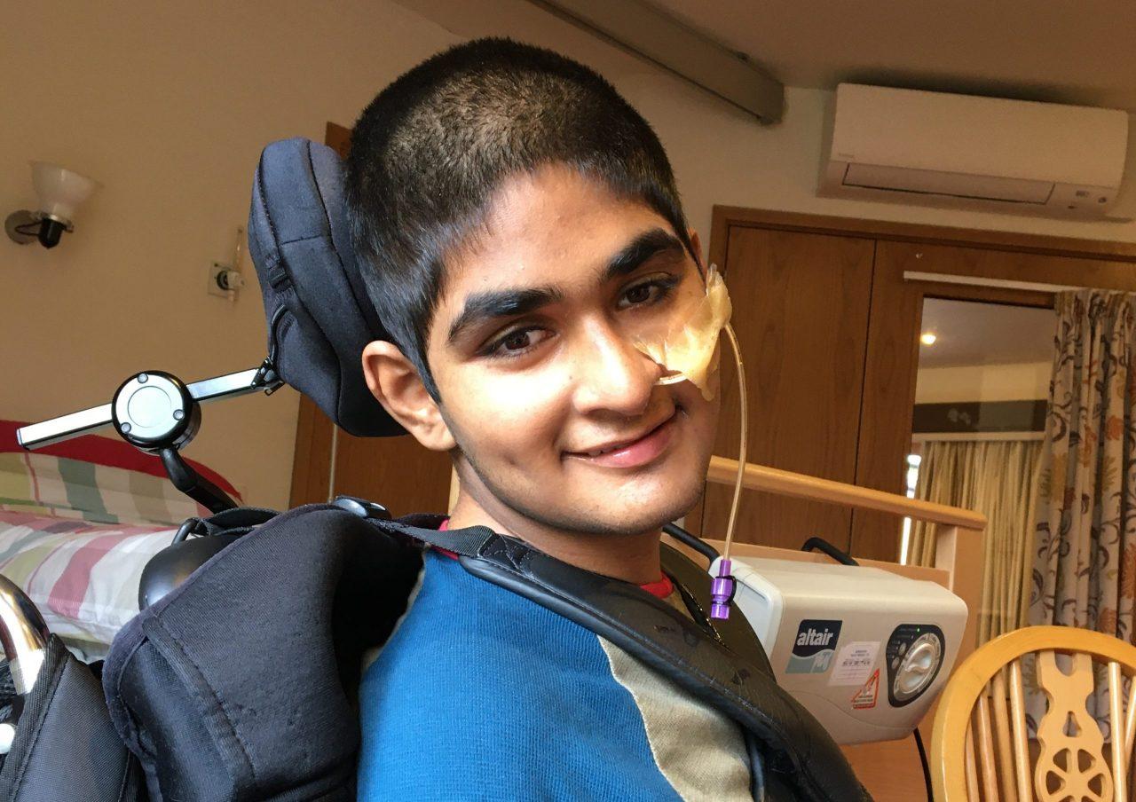 Twelve-year-old Maria walks 8 miles in brother's memory
