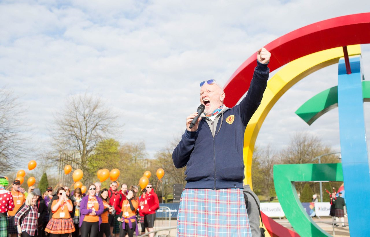 Sir Tom Hunter urges Scottish charities to 'take his money' and join the Kiltwalk