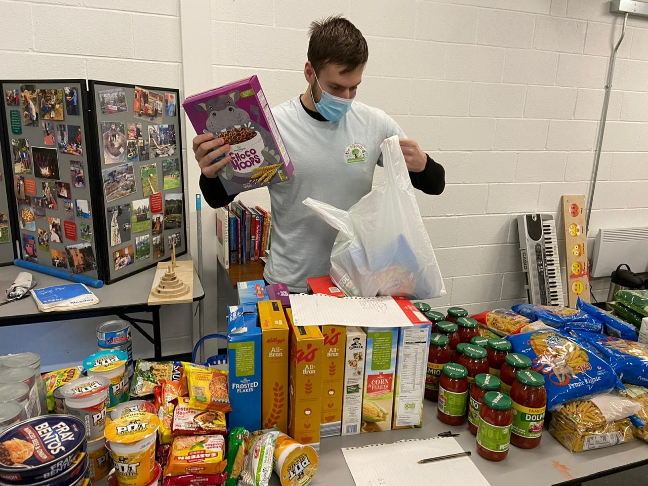 Play Bradford helps feed households in need throughout February