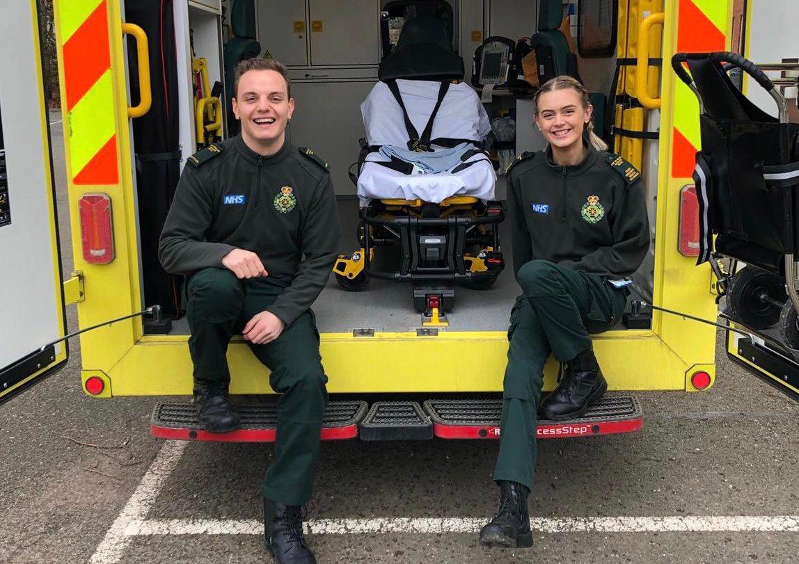 Ambulance staff team up to take on the world's fastest zipline