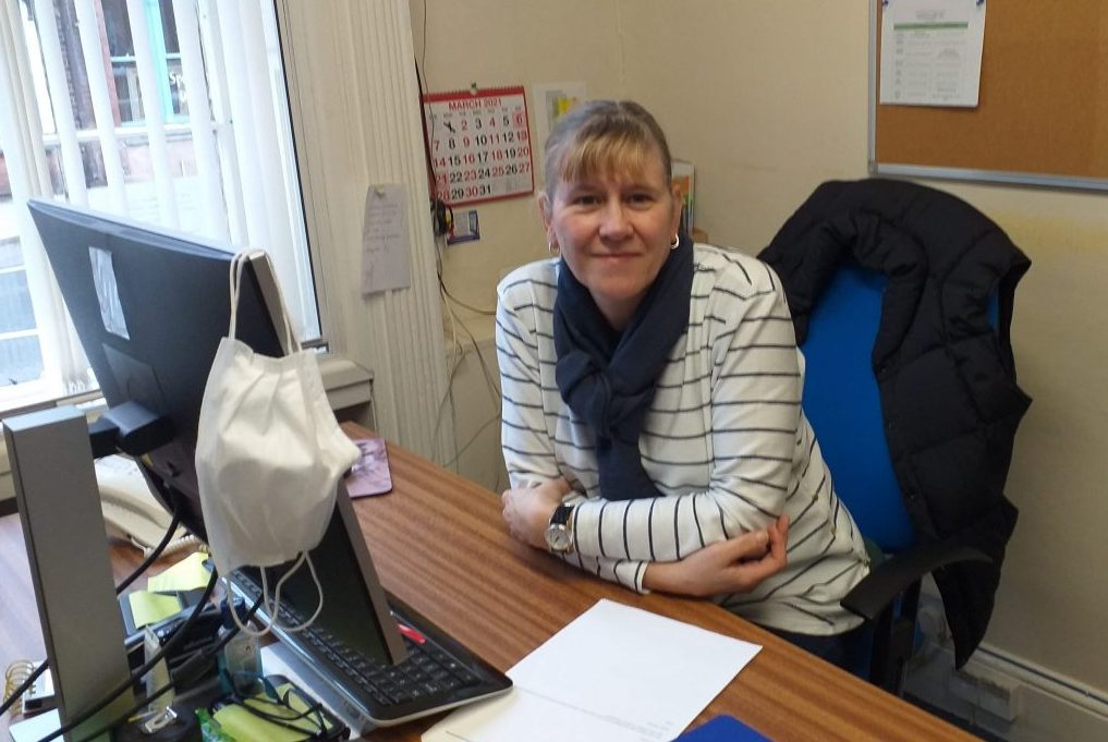 Community transport scheme welcomes new face