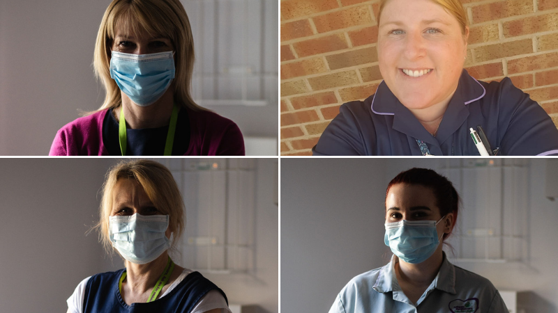One year on: Frontline workers on continuing to care through COVID-19