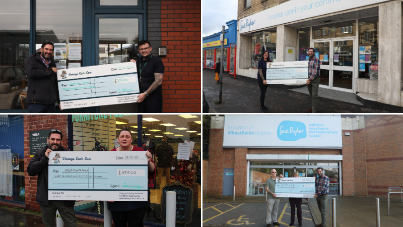 Vintage Cash Cow achieves new milestone of 2,000 registered charity shops