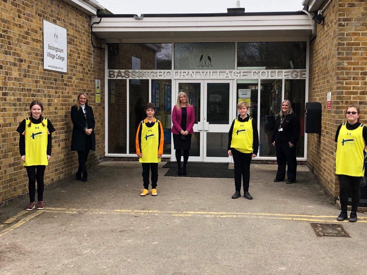 Schoolchildren raise more than £4,000 for children's brain tumour charity
