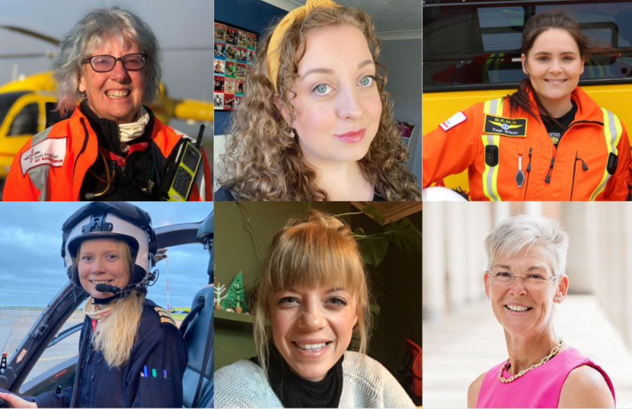 Air ambulance encourages more women into frontline roles