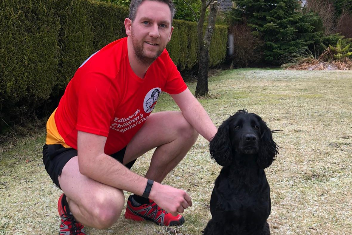 Lanark runner takes 12 marathon challenge in his stride for sick children