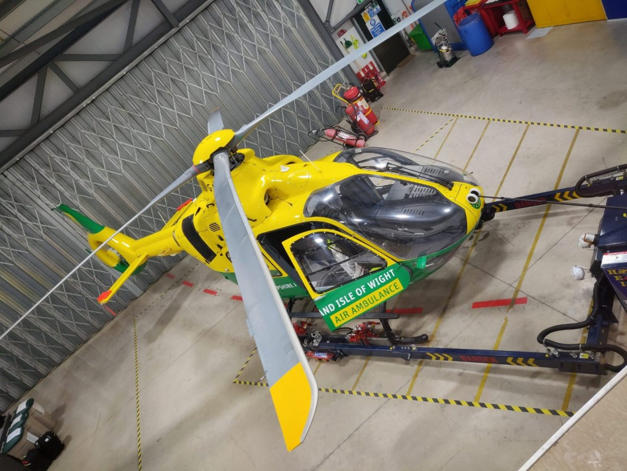 Go behind the scenes at the Hampshire and Isle of Wight Air Ambulance 'Virtual Airbase Tour'