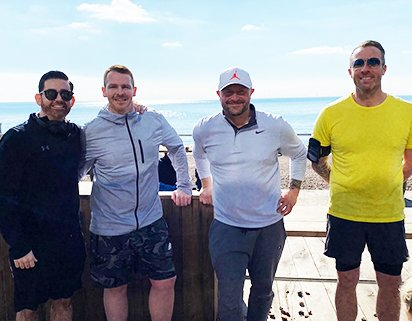 Worthing man takes on mammoth challenge to raise money for local children's charity
