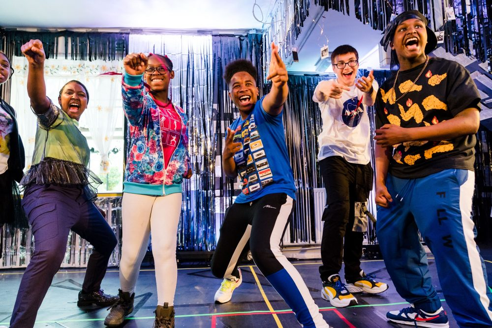 Young people helped to make their voice heard through theatre
