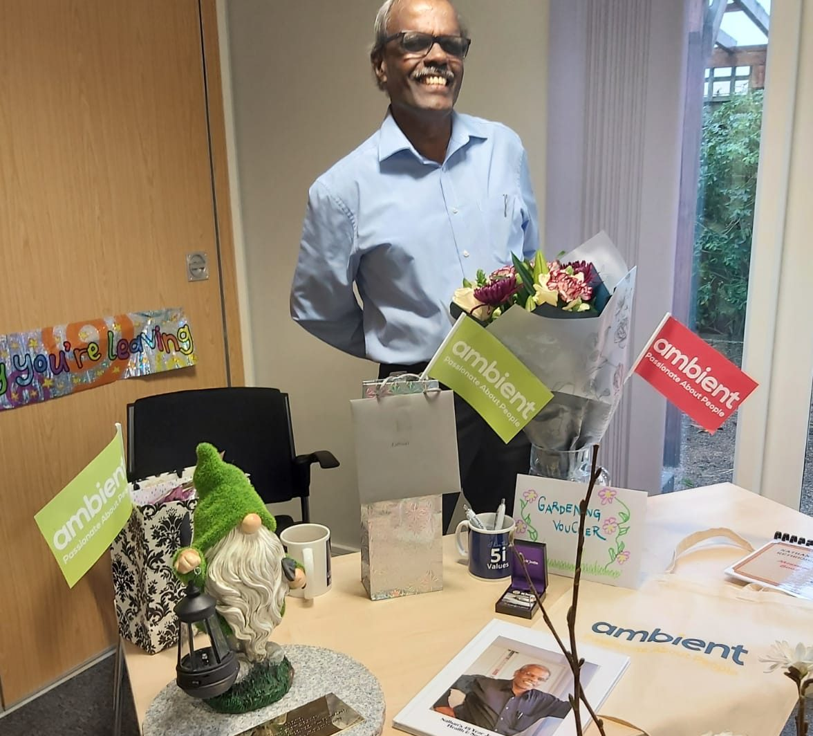 Five decades of service - Bromley care worker's retirement celebration