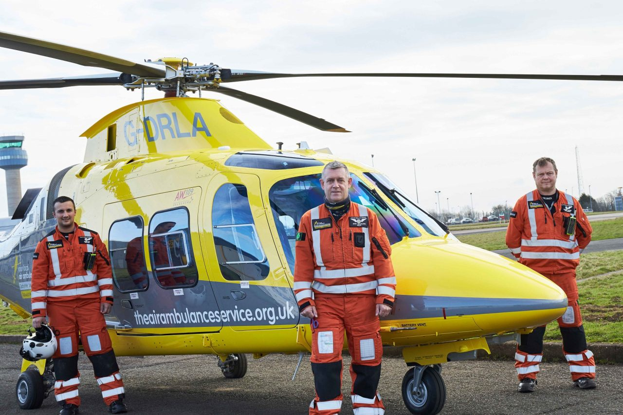 Air ambulance launches new helicopter fleet