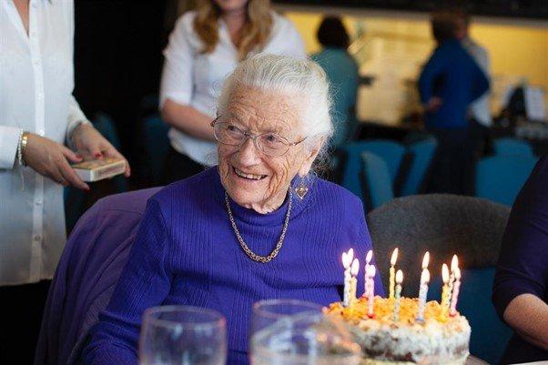 SVP member celebrates 100th birthday with charity challenge