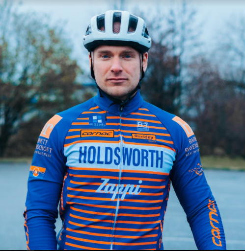 Cyclist's incredible year-long challenge to raise funds for The Sick Children's Trust