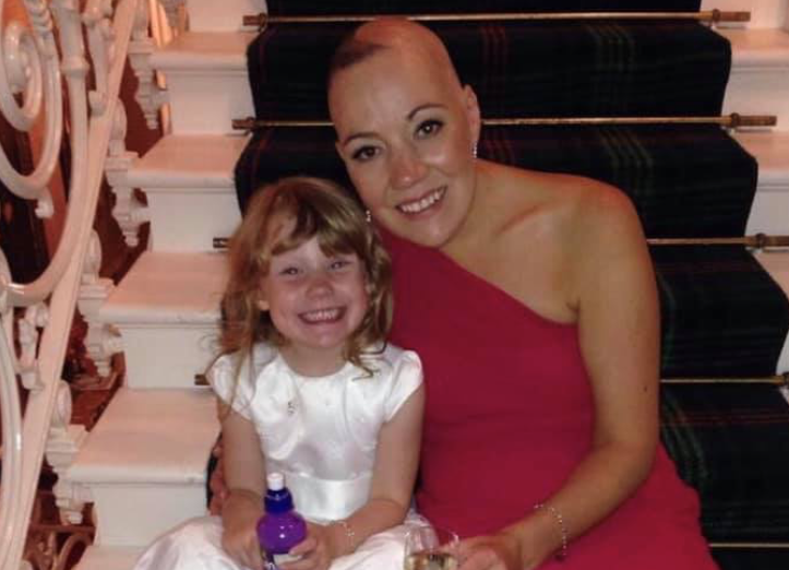 Mum with brain tumour helps mark end of awareness month by raising over £80K