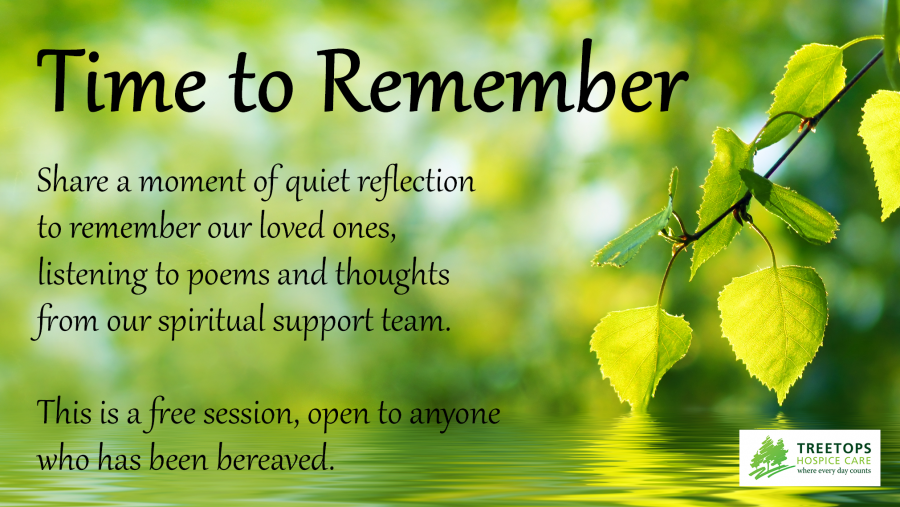 Hospice offers free virtual session to help bereaved remember their loved ones