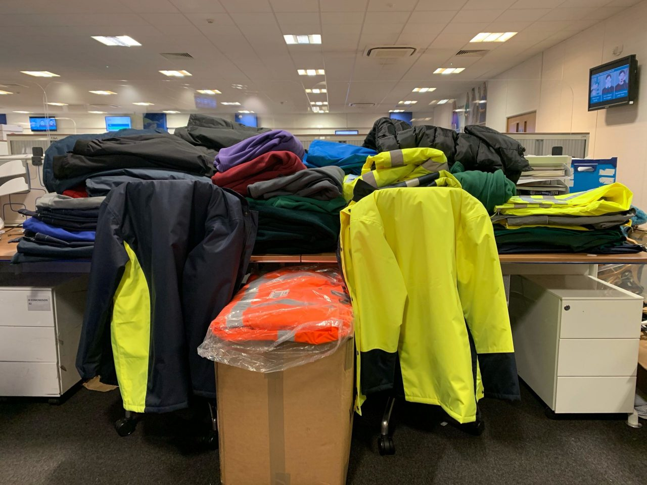 Alexandra supports local homelesscharitywith clothing donation