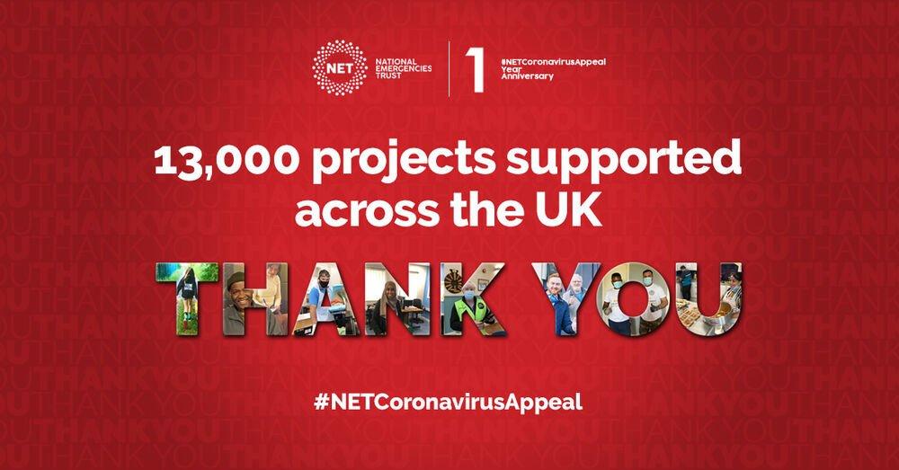 Nationwide Coronavirus Appeal raises nearly £100million for UK charities