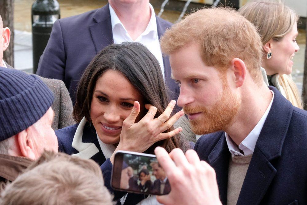 Prince Harry & wife Megan Markle