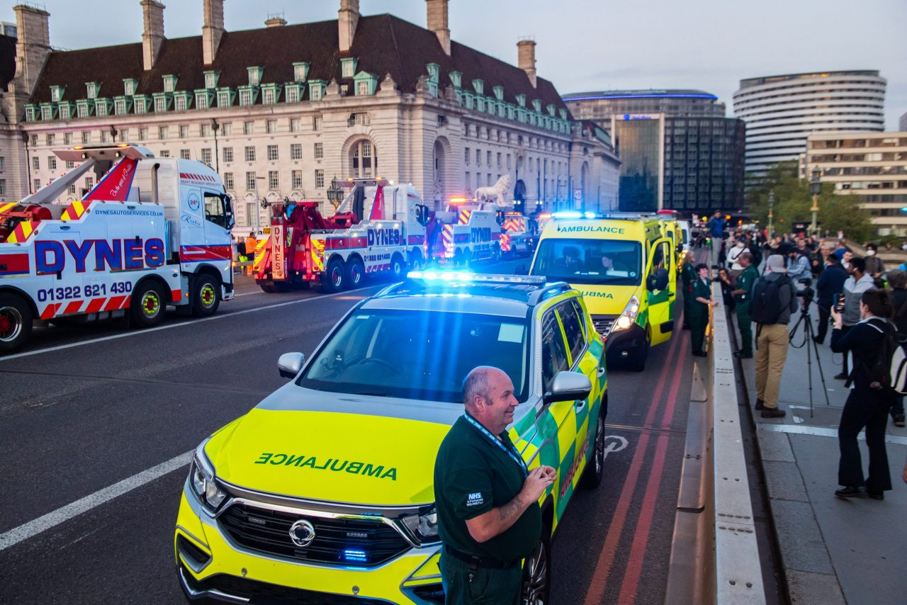 NHS Charities Together's £7m boost for thousands of ambulance service volunteers
